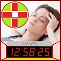 Alarm Clock AVA talking clock batteryFull Alarm tm icon