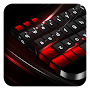 Black Red Keyboard APK icon