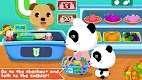 screenshot of Baby Panda's Supermarket
