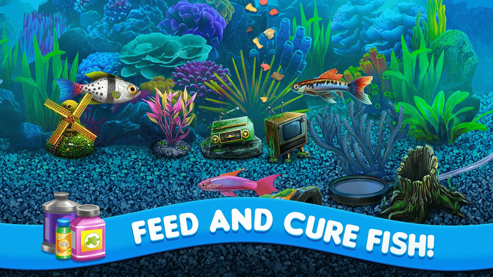 Virtual fish tank aquarium google - Fish Tycoon 2 Virtual Aquarium Screenshot