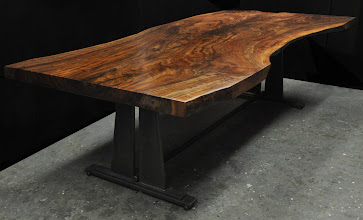 Photo: http://dorsetcustomfurniture.blogspot.com/2014/11/a-live-edge-claro-walnut-table.html