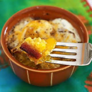 Single-Serve Cornbread, Egg, and Bacon Casseroles.