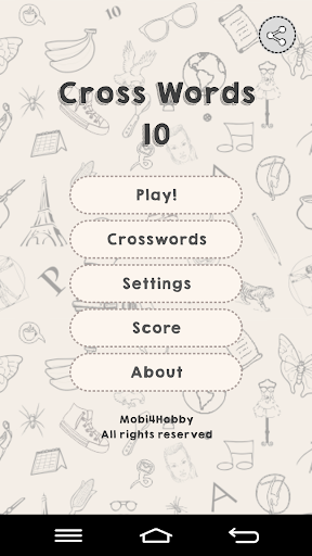 CrossWords 10 1.0.74 screenshots 1