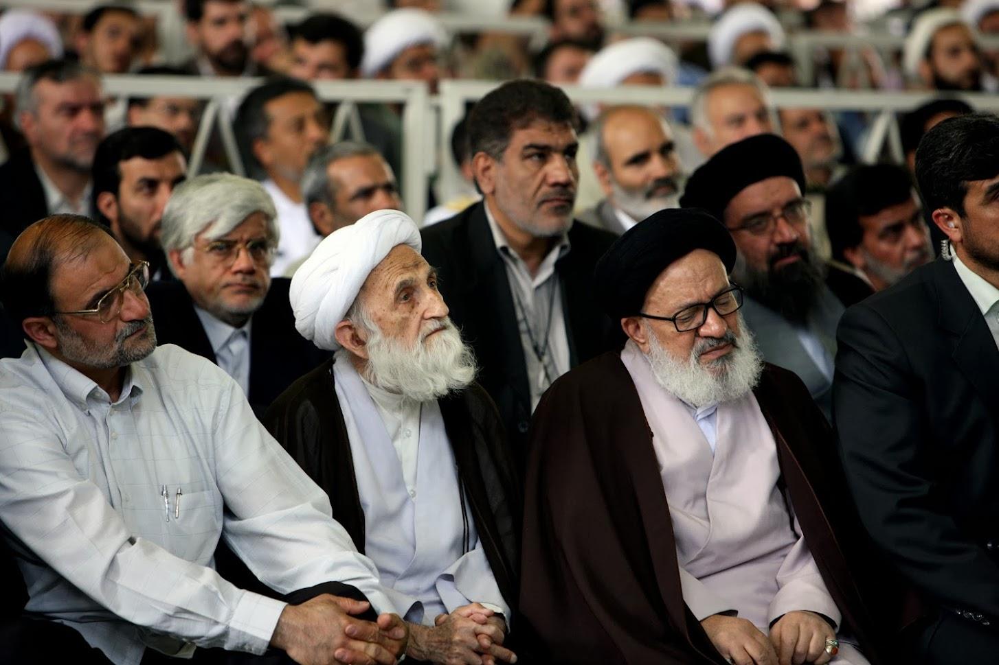 محمدرضا عارف در نمازجمعه معروف ۲۹ خرداد ۱۳۸۸