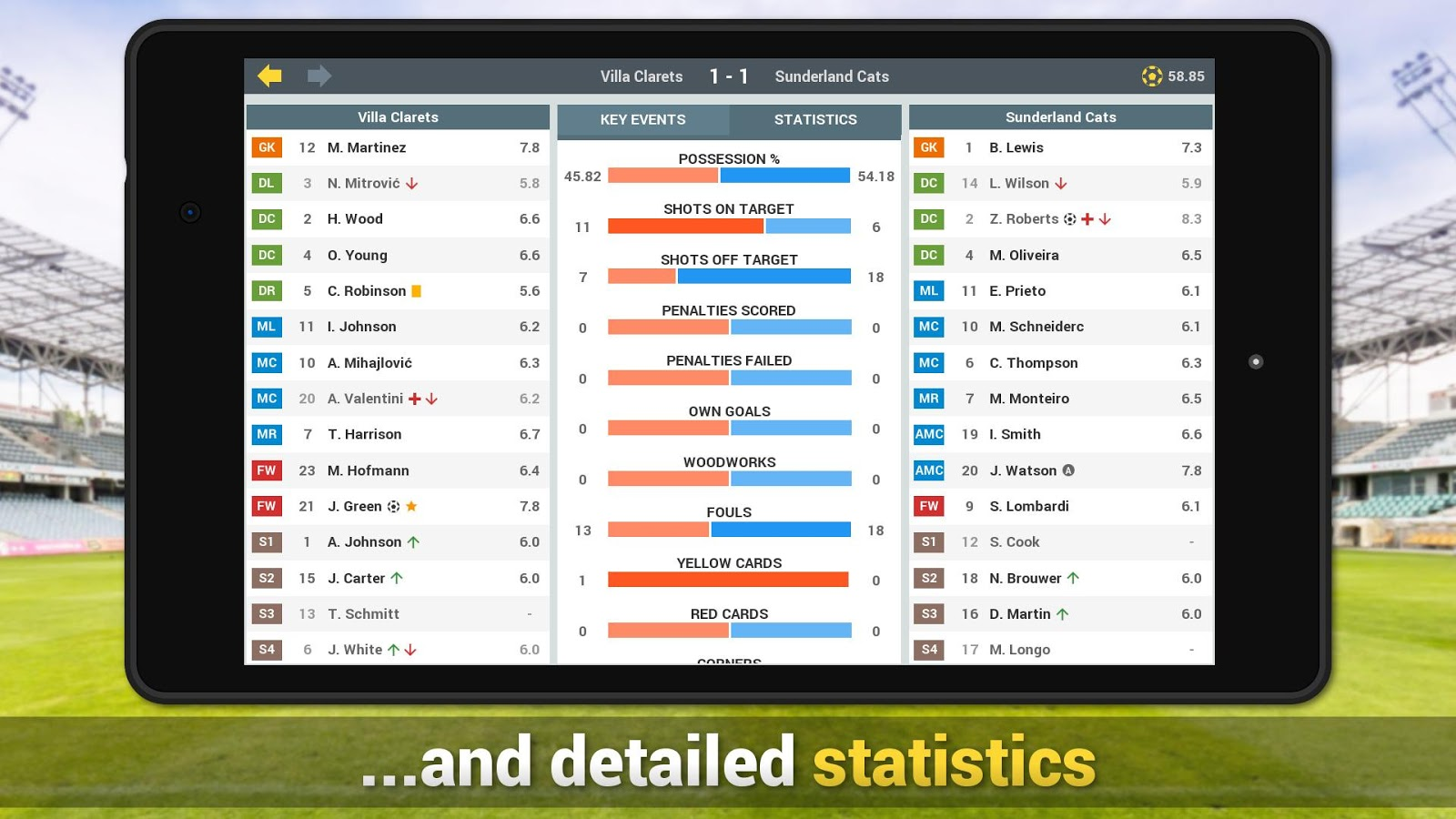 Sim Betting Football- screenshot