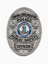 Photo: Central State Hospital Police, Badge (Defunct)