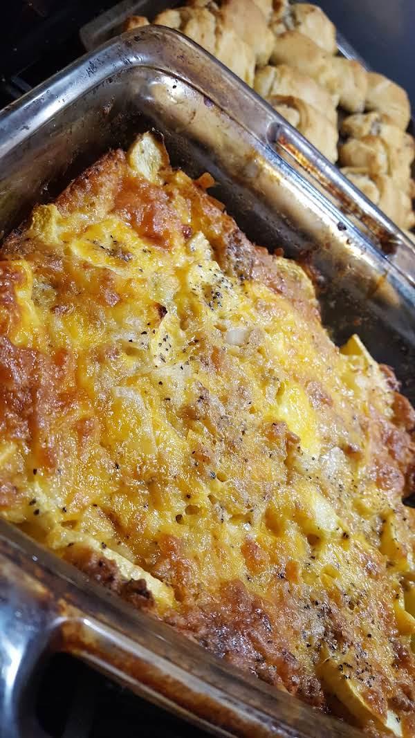 Easy Cheesy Squash Casserole Bake Recipe