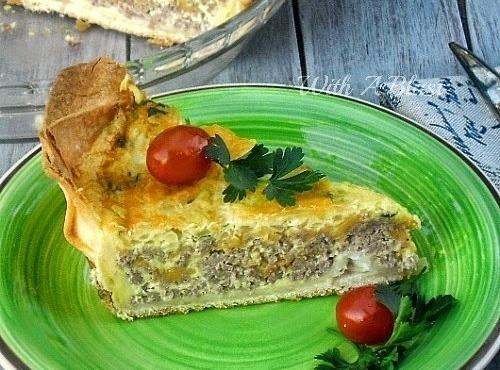 Easy Tortilla Breakfast Pie Recipe