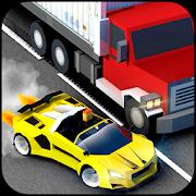 Blocky Speed Racing: Highway Traffic Racer