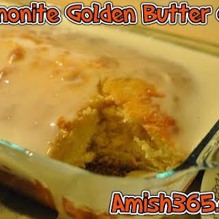 Mennonite Golden Butter Cake.