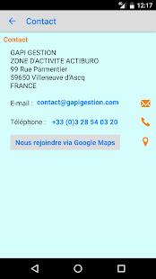 GAPI Adhérents - náhled