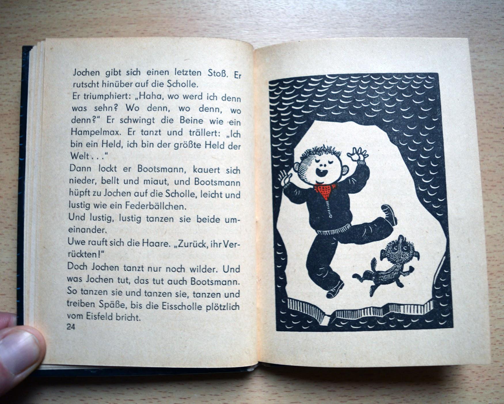 Benno Pludra - Bootsmann auf der Scholle - Trompeter-Buch - 1968