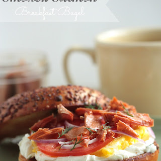 Smoked Salmon Breakfast Bagel