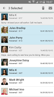 Screenshot of HulloMail Free Smart Voicemail