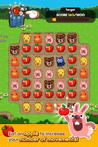 LINE PokoPoko - Play with POKOTA! Free puzzler! 1.9.6 screenshots 1