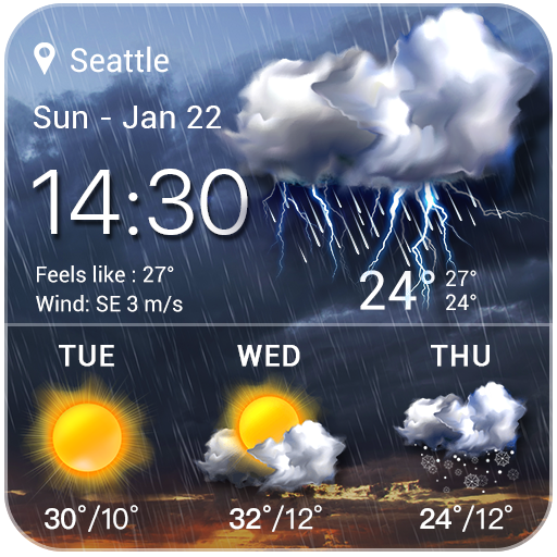 Storm Radar Weather Map&Forecast