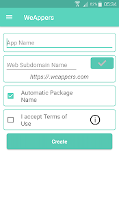 WeAppers -Free Social Friendship Android App Maker - náhled