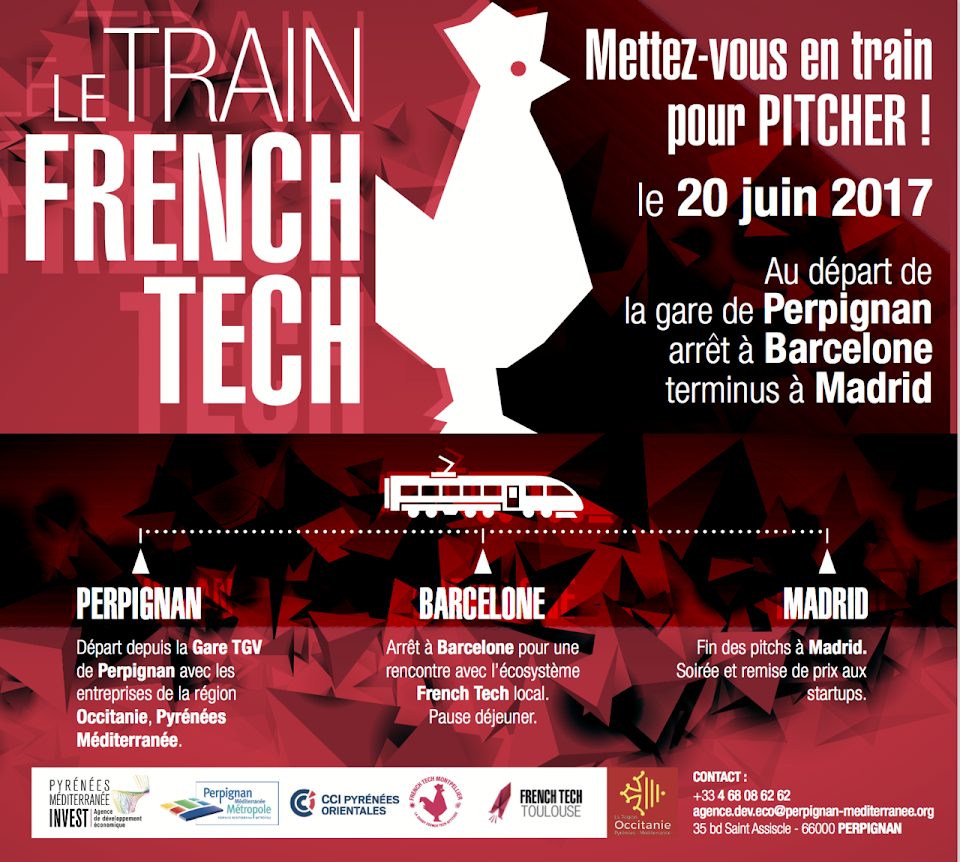 Le train FRENCH TECH