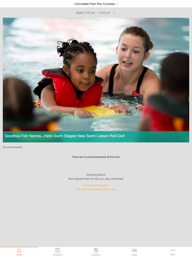 Gateway Region YMCA- screenshot