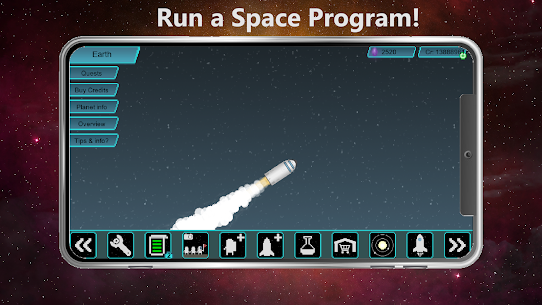 Tiny Space Program MOD (Lot of Crystals And Points) 1