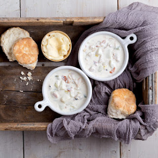 Classic New England Clam Chowder | Massachusetts