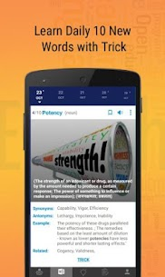 #1 Vocab App: Editorial, Quiz, Grammar, Dictionary 5