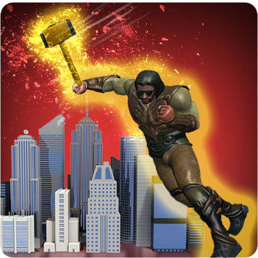 Hammer Superhero: Thunder Storm City Crime Battle