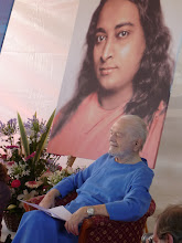 Photo: Swamiji at Rome Yoga event, June 2010