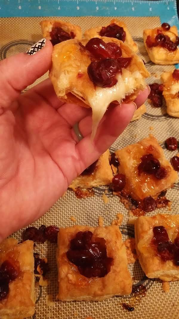 Spicy Cranberry Puffs Recipe