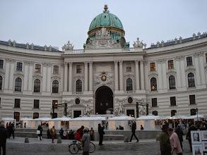 Photo: Small Christmas Market near the Palace