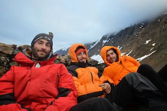 Photo: Retour du Phillipsfjellet et debrief dans le poste de garde