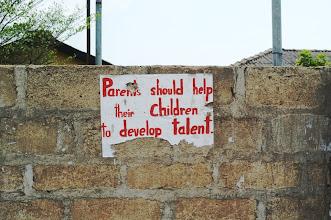 Photo: Parents should help their children to develop talent.