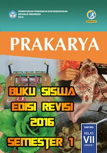 Buku Siswa SMP Prakarya Kls 7 Smstr 1 Edisi Revisi - náhled