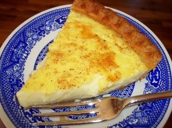 Amish Custard Pie Recipe
