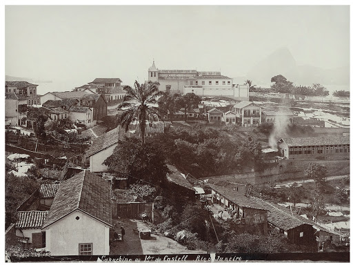 São Sebastião Church on top of the Castelo Hill, c. 1890