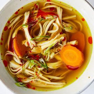 Turmeric-Ginger Chicken Soup recipe | Epicurious.com.