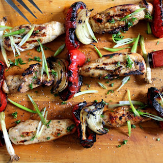 Grilled Chicken Kabobs Sauce Recipes