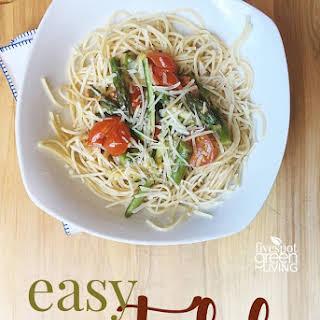 Easy Vegetable Pasta.