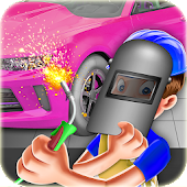 Sports Car Factory Mechanic