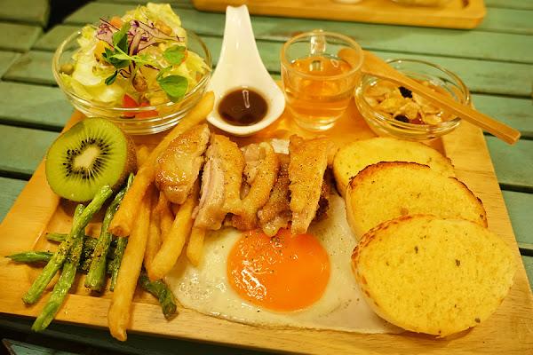 新北板橋 | 奈野咖啡 NaiYe Cafe 鳥巢地窖木拼盤早午餐