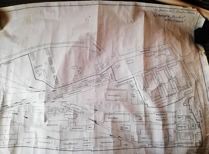 Zeichnung: Geländeplan.