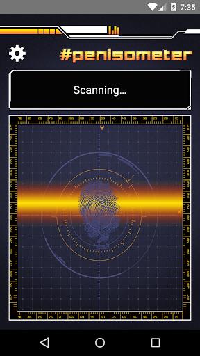Penis size scanner prank