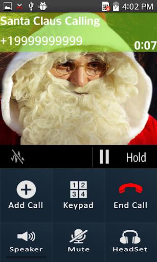 玩免費娛樂APP|下載Santa Claus Calling Prank app不用錢|硬是要APP