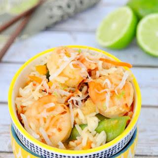 Crockpot Thai Shrimp and Rice