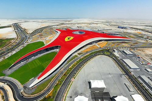 Photo Ferrari World Abu Dhabi