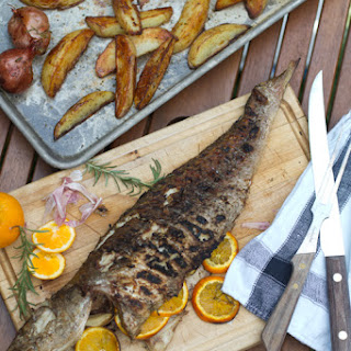 Grilled Whole Redfish