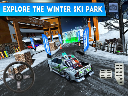 Winter Ski Park: Snow Driver 1.0.1 screenshots 7