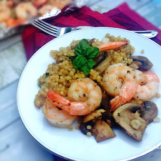 Casablanca Movie Night Paired Alonside Shrimp & Mushroom with Spinach Couscous Recipe