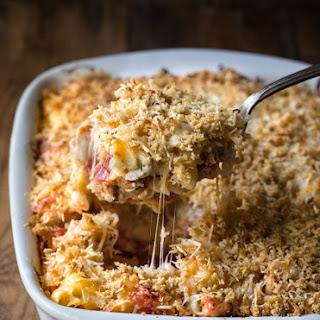 Italian Chicken Pasta Bake {gluten free, dairy free option}.