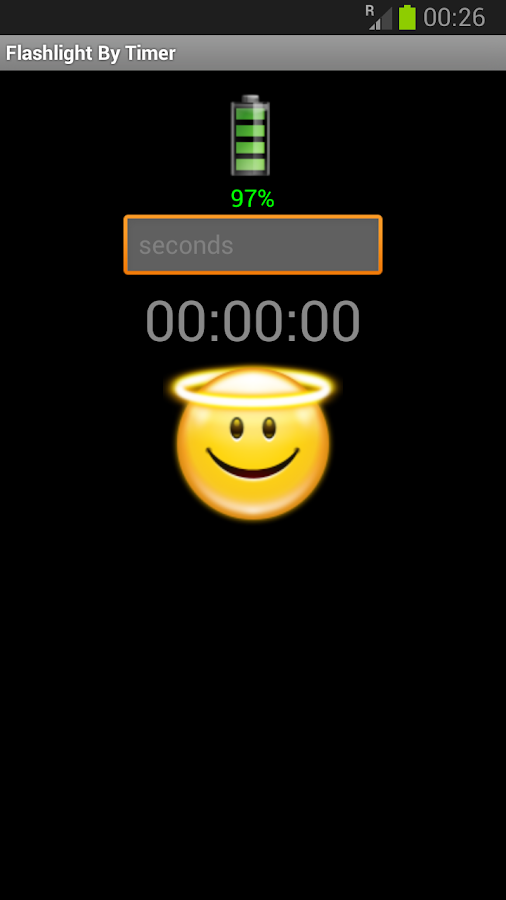 Flashlight by Timer- screenshot